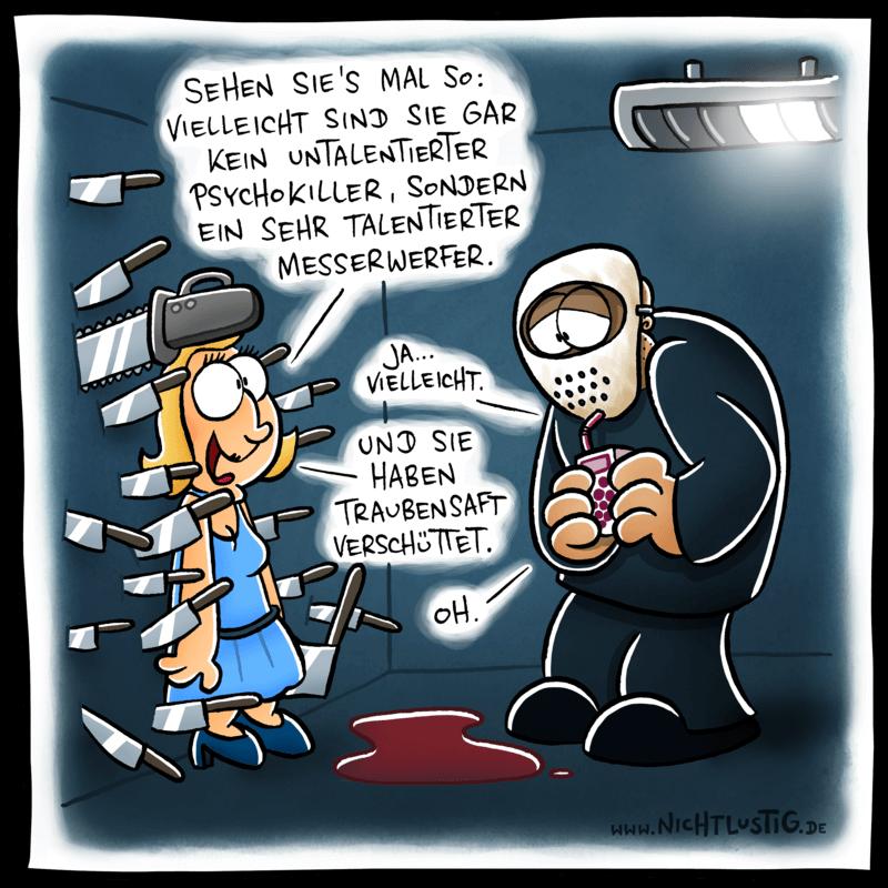 Cartoon Nicht Lustig